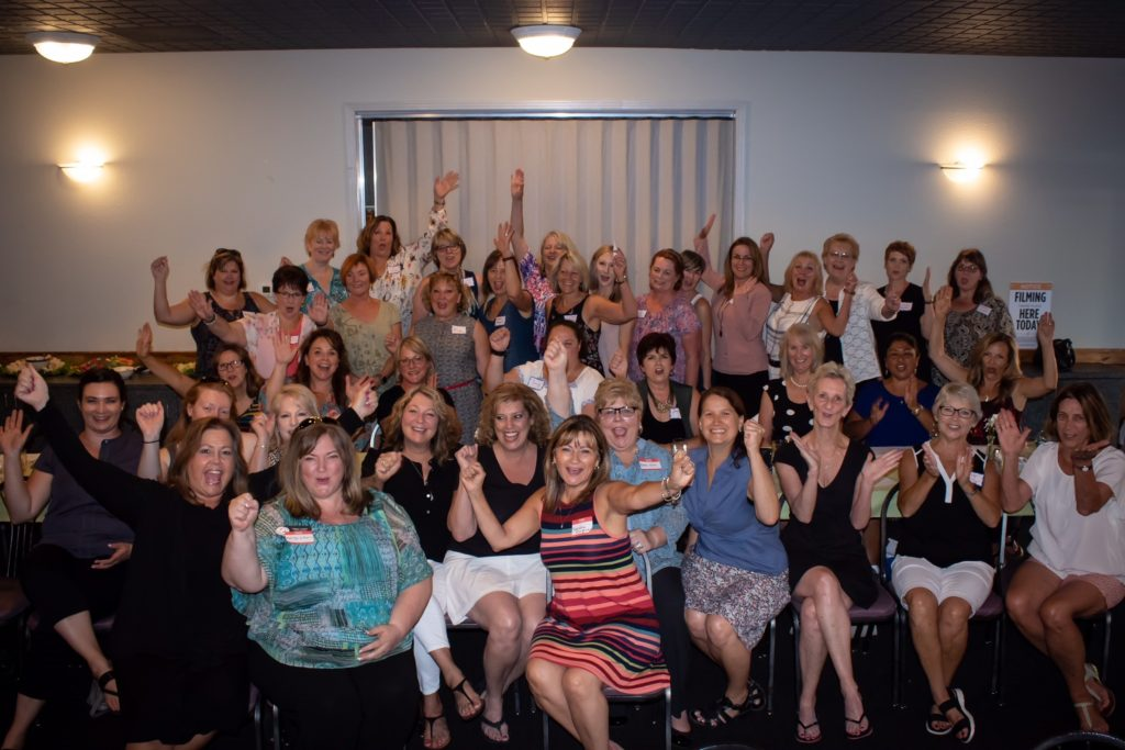 100+ Women Who Care First Meeting